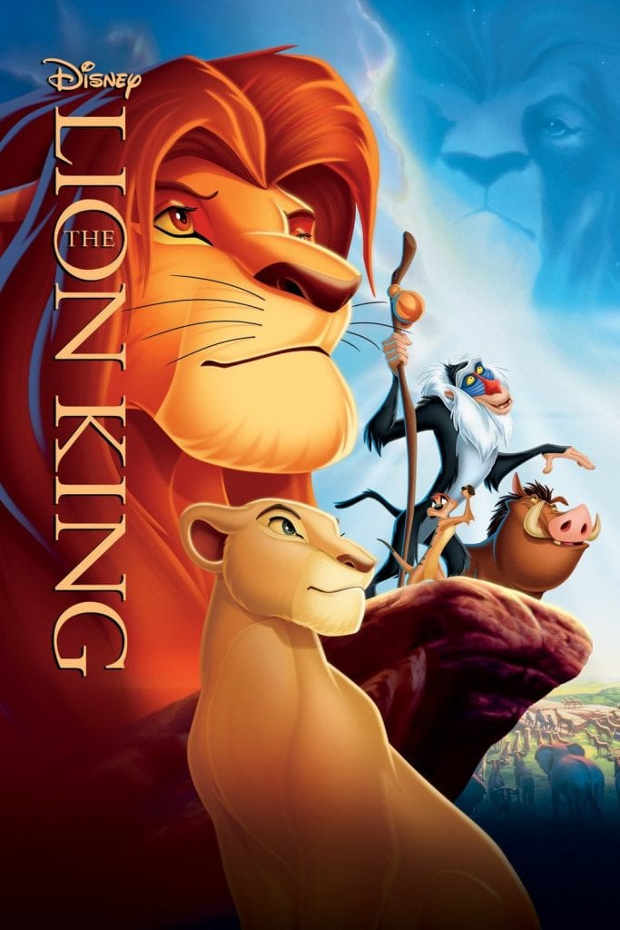 movies with seniors - the lion king