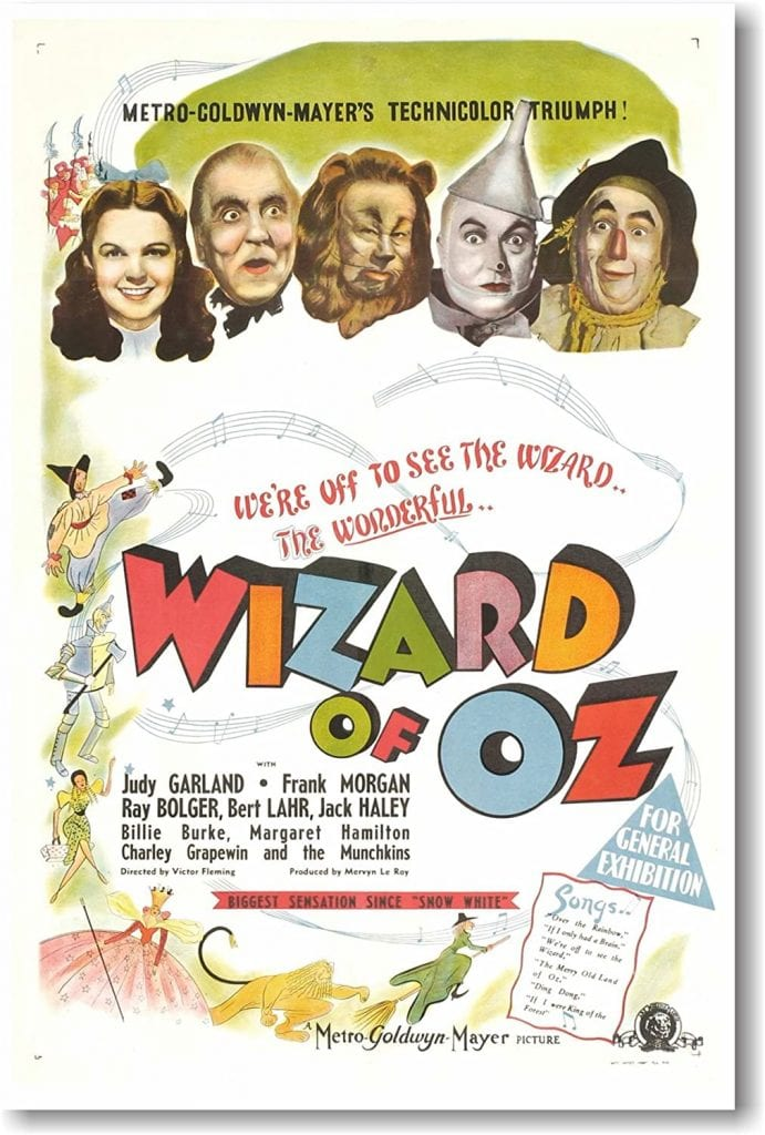 movies with seniors - the wizard of oz