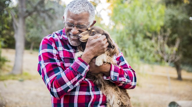 Top 3 Benefits of Having a Pet During Retirement