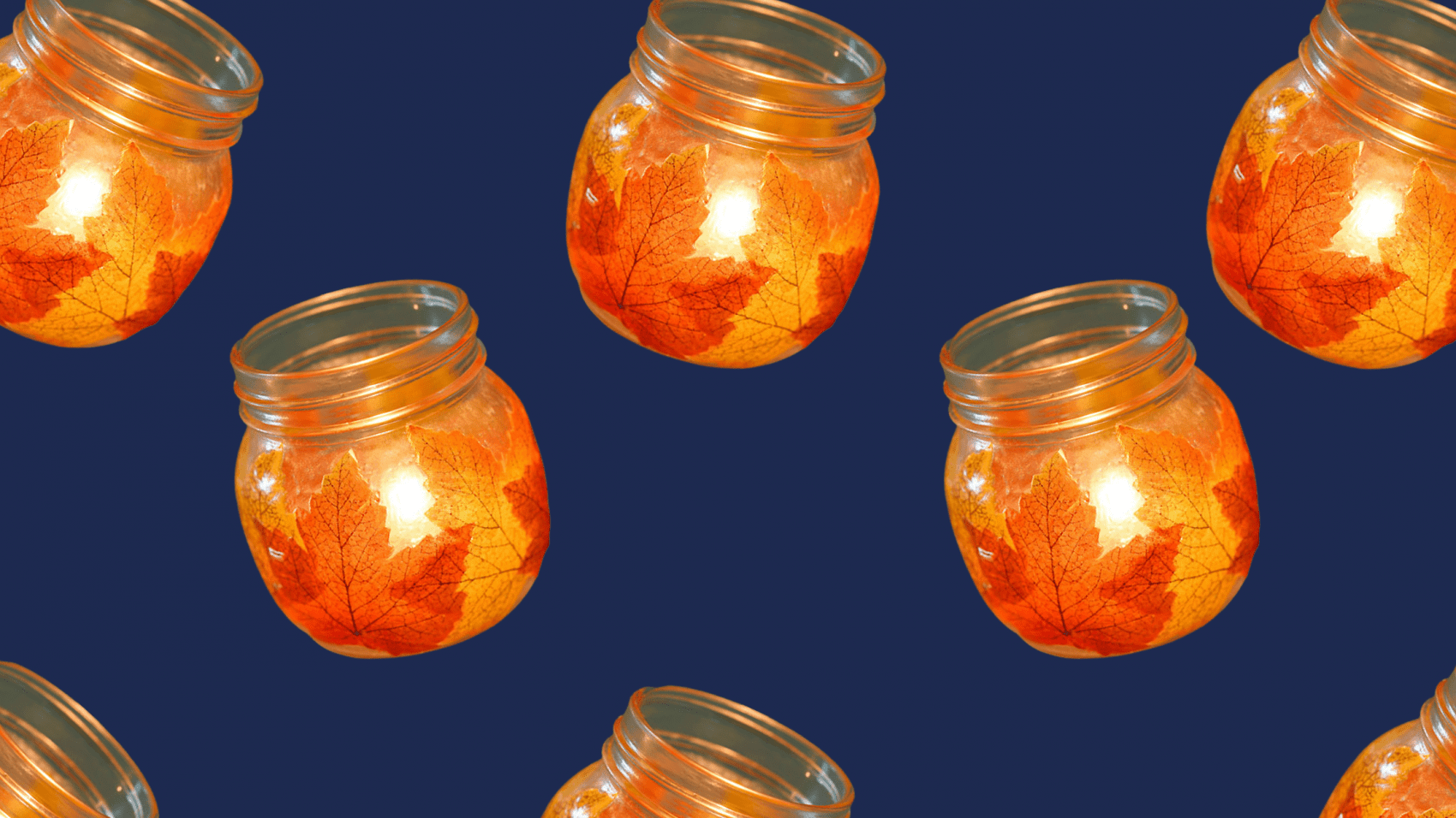 DIY Decoration: Autumn Candle