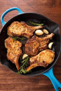 rosemary garlic porkchops